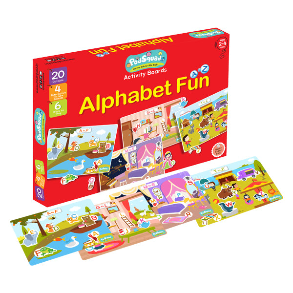 Activity Boards - Alphabet Fun