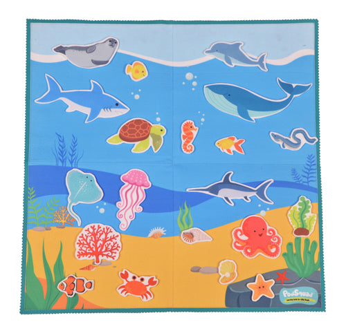 Felt Activity Mat- Under the Sea