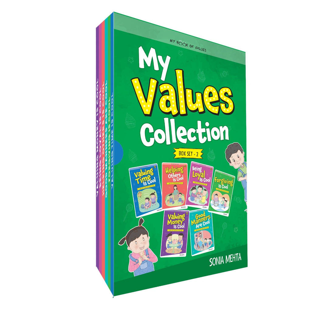 My Book of Values Collection of Stories -  Box Set (6 Books)