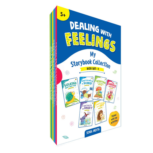 The Dealing With Feelings Collection of Stories - Box Set (6 Books)