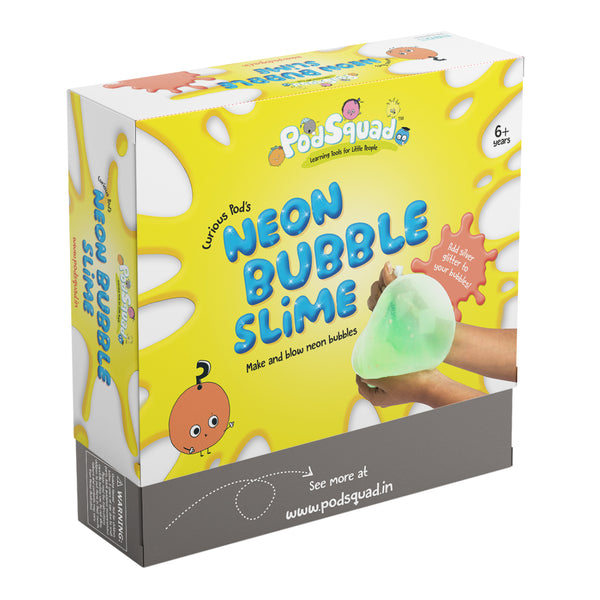 Neon Bubble Slime Kit