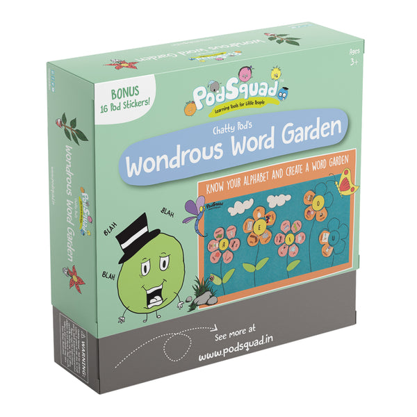 Wondrous Word Garden Box