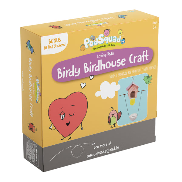 Birdy Birdhouse Craft