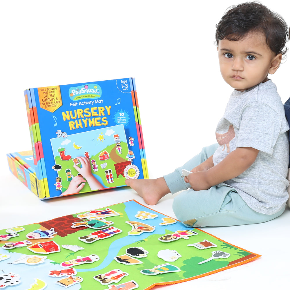 Felt Activity Mat- Nursery Rhymes