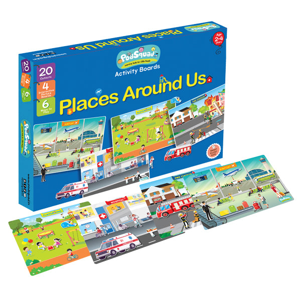 Activity Boards - Places Around Us