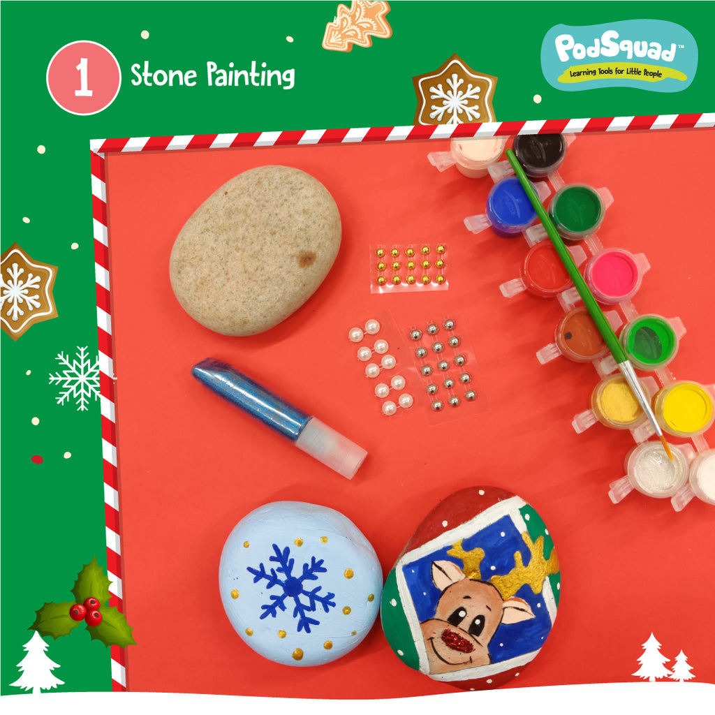 Personalized Christmas Activity Box
