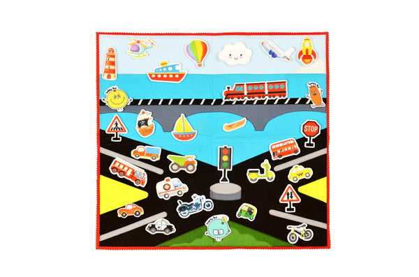 Felt Activity Mat- Transport