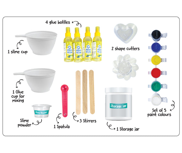 Colour Scientist Slime Kit