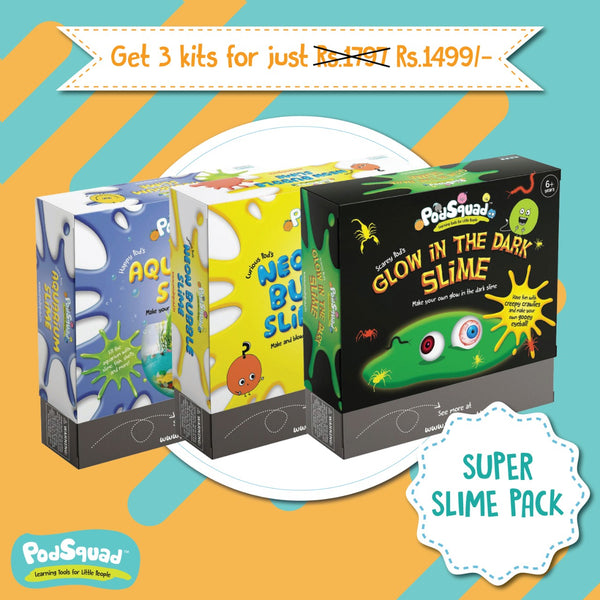 The Super Slime Bundle Pack