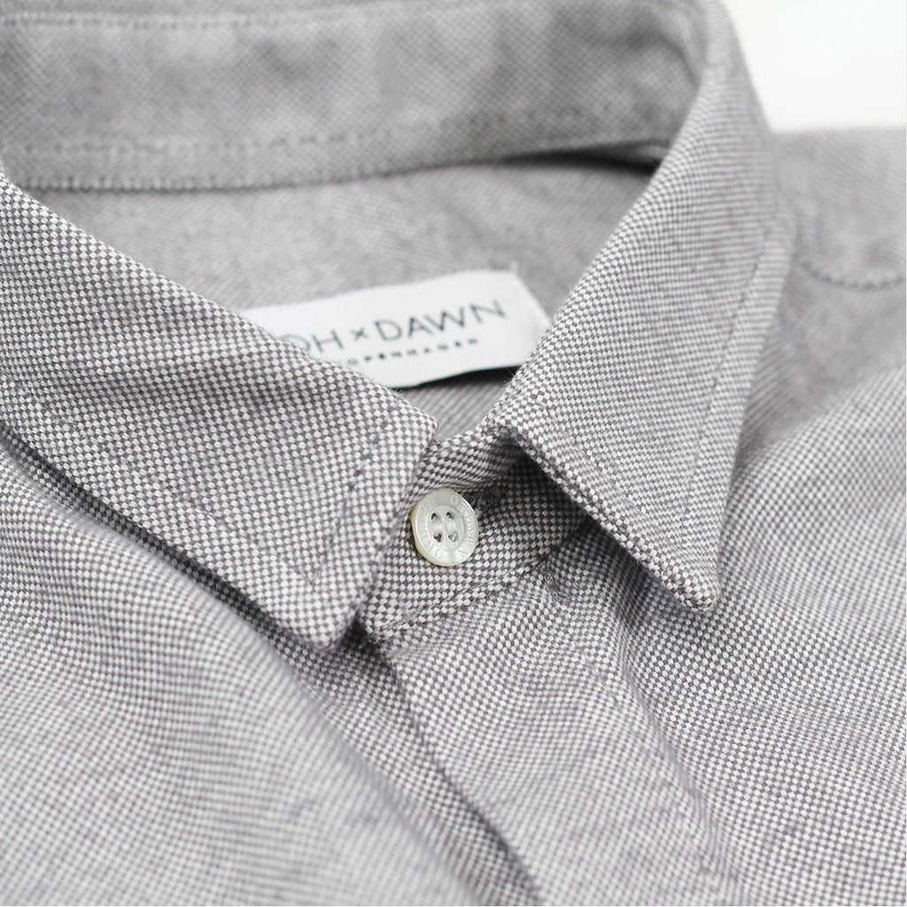 oh dawn waves shirt collar detail