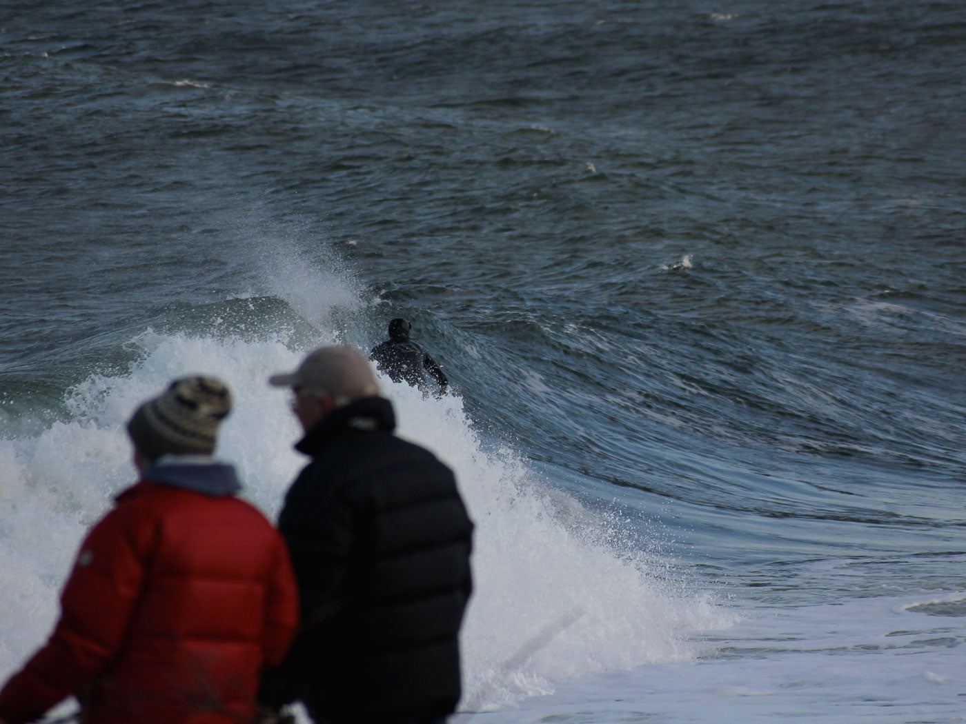coldwater surfing in scandinavia