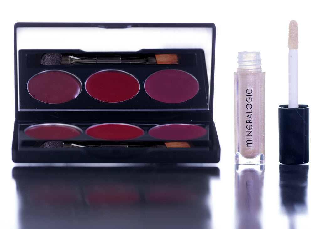 Lipstick Trio Pack with Mini Lipgloss