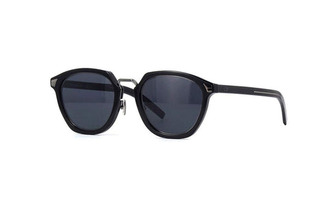 Sunglasses, Christian Dior, Crafted in Italy,Dior Men's DIORTAILORING1 IR 807 49 Sunglasses, (Black/Grey Blue) - Crafted in Italy Eyewear
