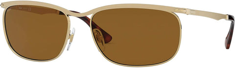 Ray-Ban 0PO2458S Multicolour Gold Men's Sunglasses