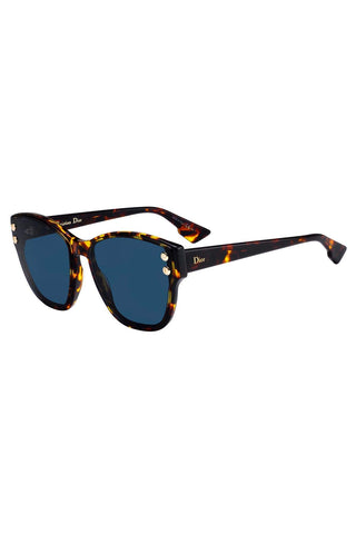 Sunglasses, Christian Dior, Crafted in Italy,Dior - DIOR ADDICT 3, Geometric acetate - Crafted in Italy Eyewear