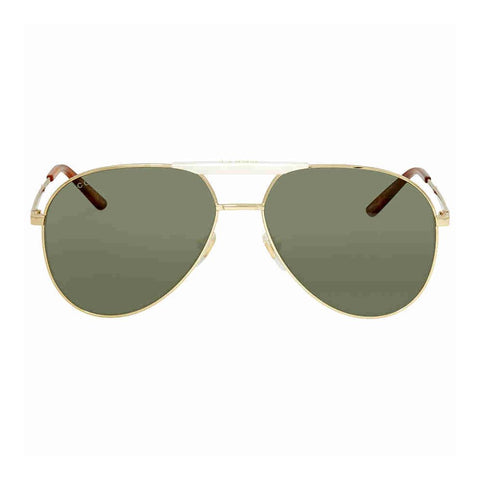 Sunglasses, Gucci, Crafted in Italy,Gucci Unisex Adults' GG0242S-003-59 Sunglasses, Gold-Opal, 59.0 - Crafted in Italy Eyewear