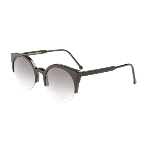 Sunglasses, RETROSUPERFUTURE, Crafted in Italy,SUPER Women's Sunglasses Black Black - Black - One Size - Crafted in Italy Eyewear