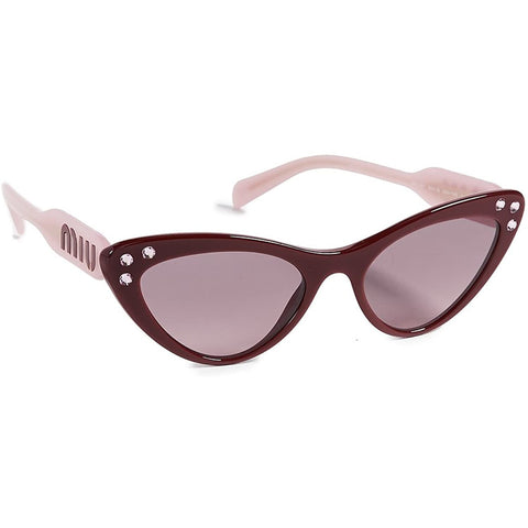 Sunglasses, Miu Miu, Crafted in Italy,Occhiali da sole Cat Eye Crystals da donna Miu Miu - Crafted in Italy Eyewear