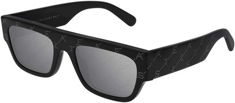 Stella McCartney SC0210S Black/Grey Women's Sunglasses