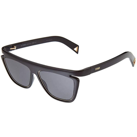 Fendi FF0384/S 807 Black FF0384/S Square Women Sunglasses