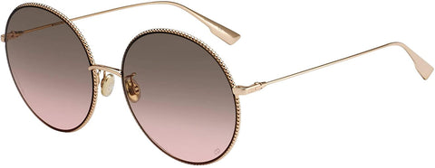 Occhiali da sole, Christian Dior, Crafted in Italy,Occhiali da sole Christian Dior (DiorSociety2F DDB86) Rose Gold - Plum Gradient - Crafted in Italy Eyewear