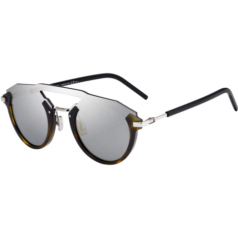 Dior Futuristic Dark Havana/Brown Men's Sunglasses