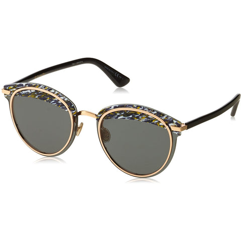 Sunglasses, Christian Dior, Crafted in Italy,Dior OFFSET 1S Sunglasses 09N7 Blue Black 62-15-145 - Crafted in Italy Eyewear