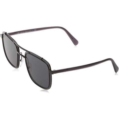 Sunglasses, Ray-Ban, Crafted in Italy,Occhiali da sole 0pr 59us da uomo Ray-Ban, neri / grigi, 59 - Crafted in Italy Eyewear