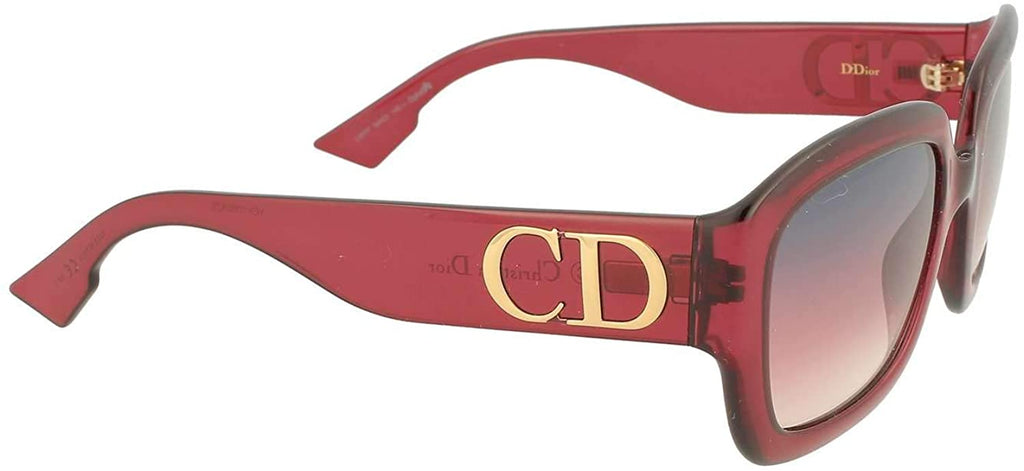Sunglasses, Christian Dior, Crafted in Italy,Christian Dior ddiorlhfff Sunglasses Woman Red - Crafted in Italy Eyewear
