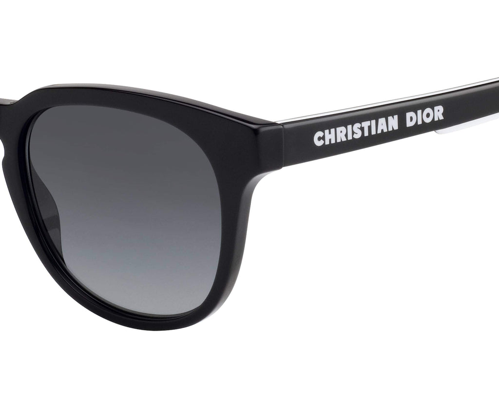 Dior B24.2 Black/Grey Gradient Men's Sunglasses