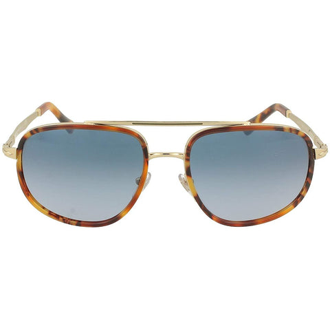 Persol Sartoria PO 2465S Dark Havana/Blue Gradient Men's Sunglasses
