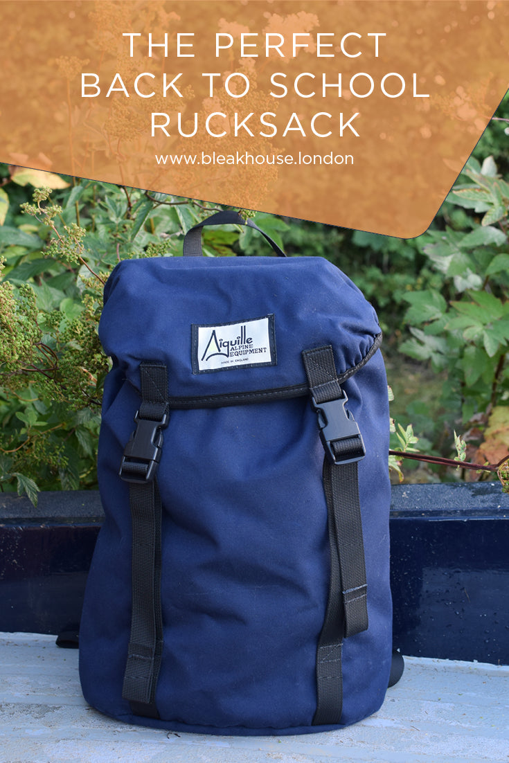 The perfect back to school rucksack. Great for secondary school kids with lots of text books to carry. Also great for adults cycling or going to yoga after work.