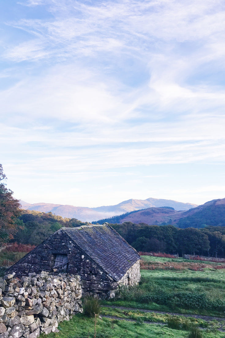 Autumn is the perfect time to visit Snowdonia. Renting a cottage with a log fire and no wifi or phone signal is the perfect way to unwind and unplug.