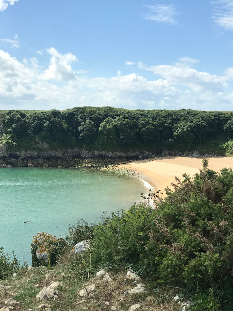 Barafundle in Pembrokeshire