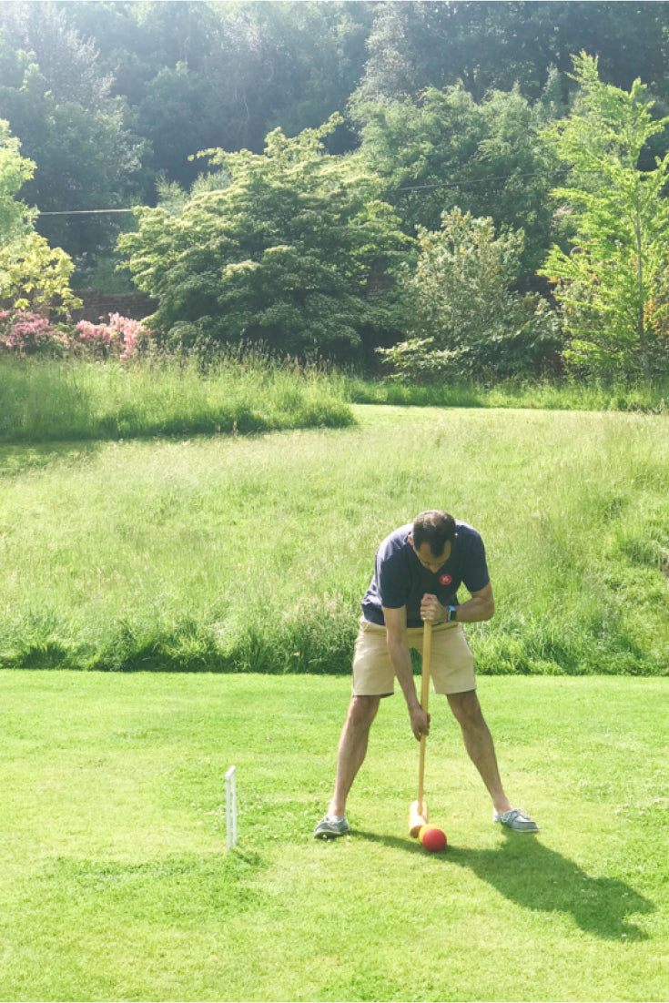 How to play croquet for beginners & the chance to play on Winston Churchill's croquet lawn