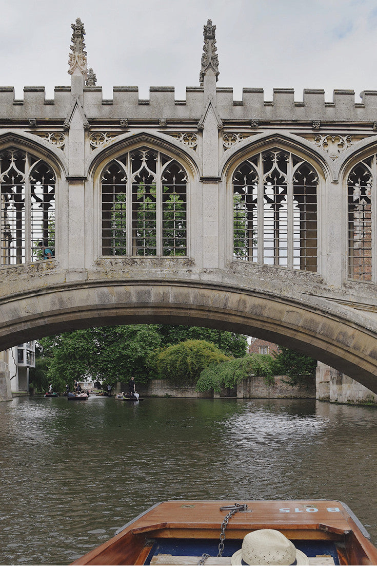 Download our guide to punting in Cambridge