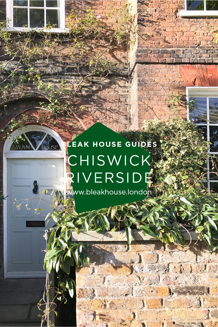 November's Bleak House Guide is an invigorating walk along the Thames at Chiswick. Elegant Georgian houses with enviable river views and adorable cottages with rose gardens jostle with ancient riverside pubs in this charming, historical part of London.