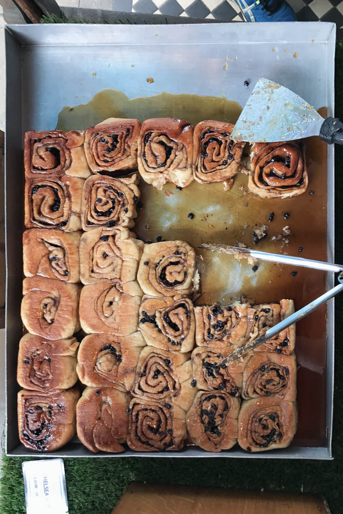 A trip to Cambridge for a spot of punting and hunting down the world's best Chelsea buns at Fitzbillies.