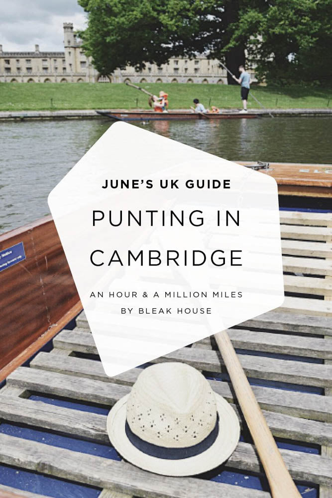 A trip to Cambridge for a spot of punting and hunting down the world's best Chelsea buns at Fitzbillies