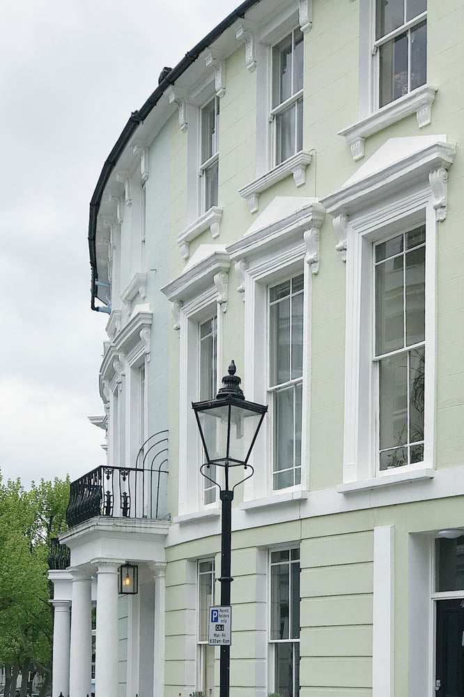 A summery walk from Primrose Hill to Liberty of London