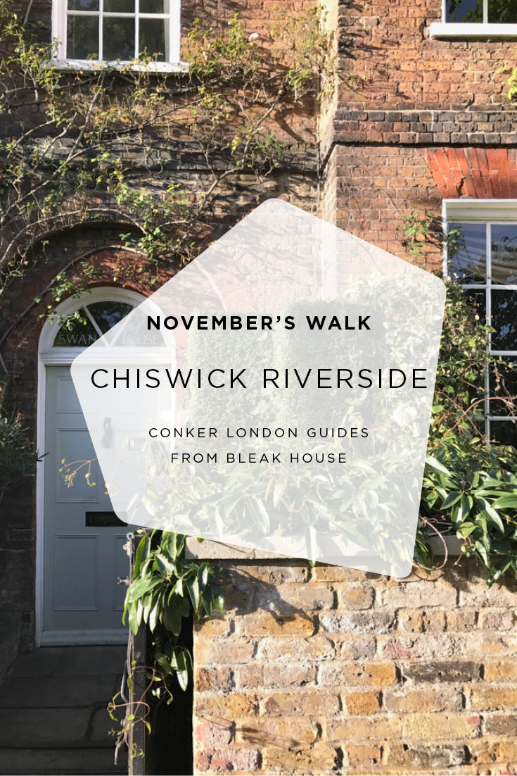 An autumnal walk along the river at Chiswick
