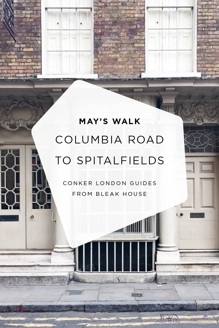 A sunday morning stroll through Columbia Road, Shoreditch and Spitalfields