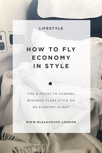 How to travel economy in style