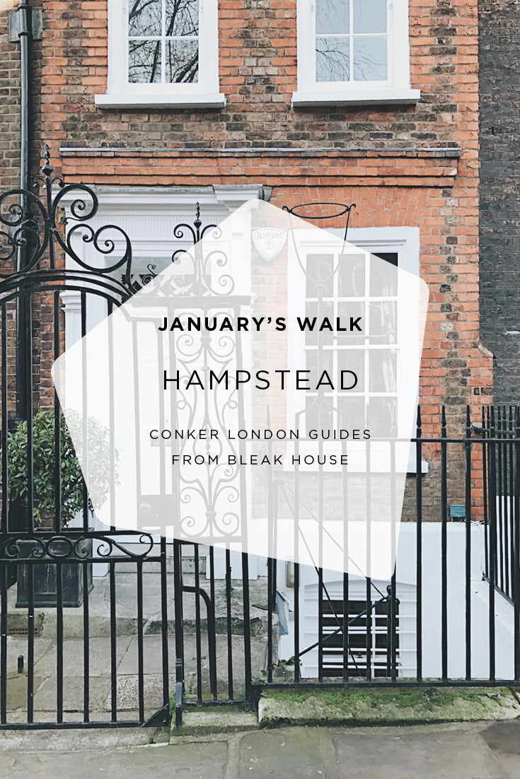 A cosy walk through pretty Hampstead