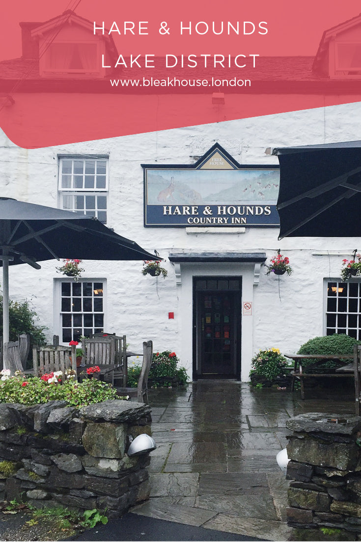Hare & Hounds in Bowland Bridge in the Lake District