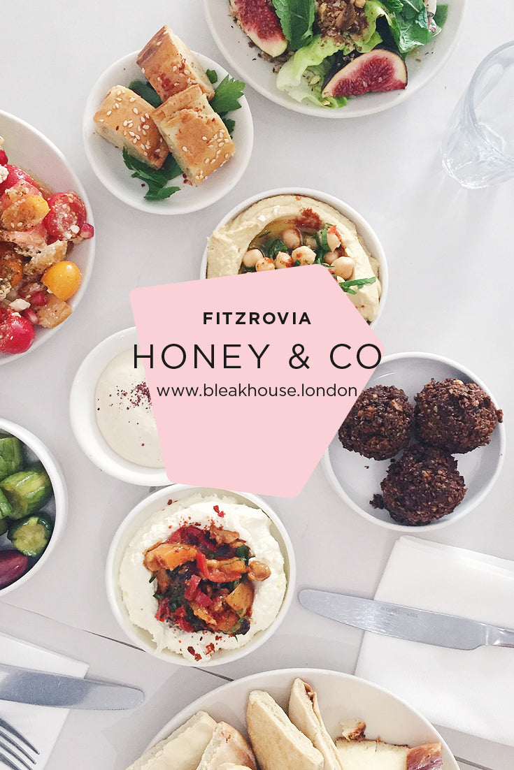 Honey & Co Mediterranean Restaurant in Fitzrovia London