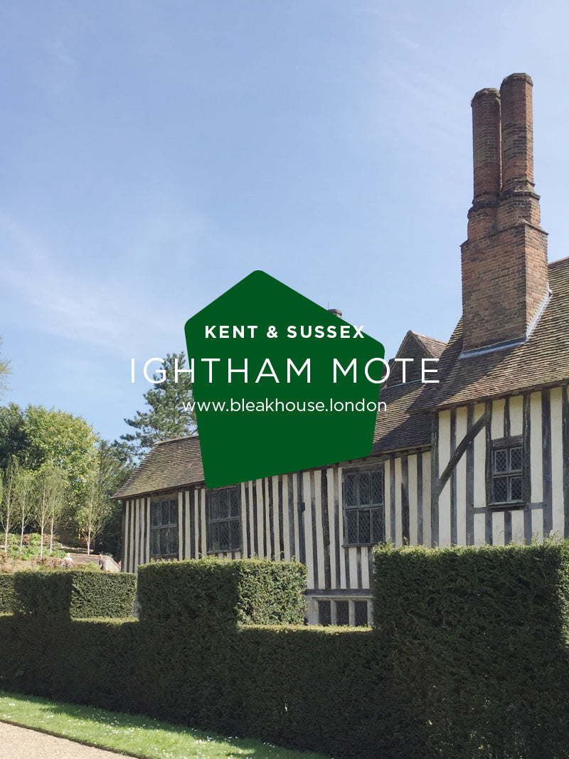Ightham Mote is an incredible 14th century moated manor house situated close to the village of Ightham near Sevenoaks in Kent. It's a great place to walk your dog, soak up some history and have tea and cake in the excellent National Trust cafe.