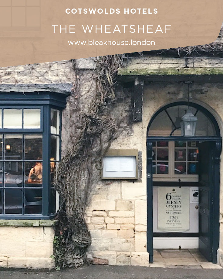Read why The Wheatsheaf in the Cotswolds is on of the best places to stay in this pretty part of the country.