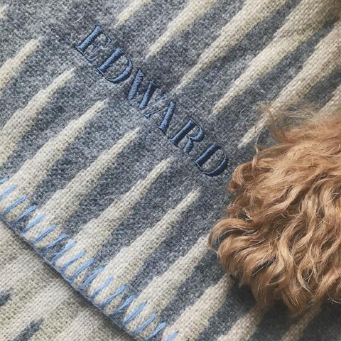 Merino Wool Welsh Dog Blanket