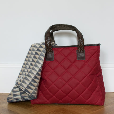 The Bleak House tote perfect for weekends away with your dog or for carrying your laptop or as a nappy bag